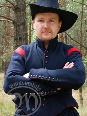 musketeer doublet 17th century wool