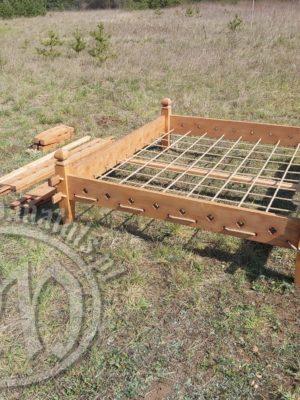 Średniowieczne rozkładane łóżko