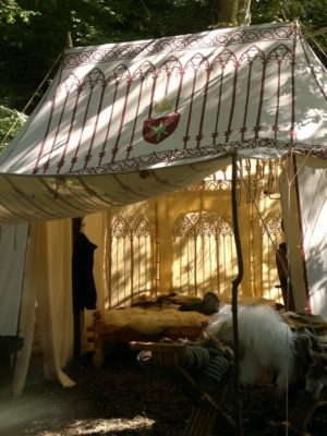 Średniowieczny namiot