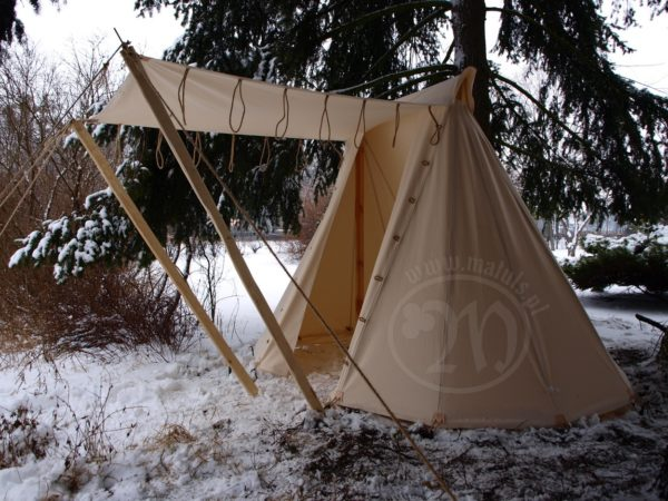 otwarty namiot sax