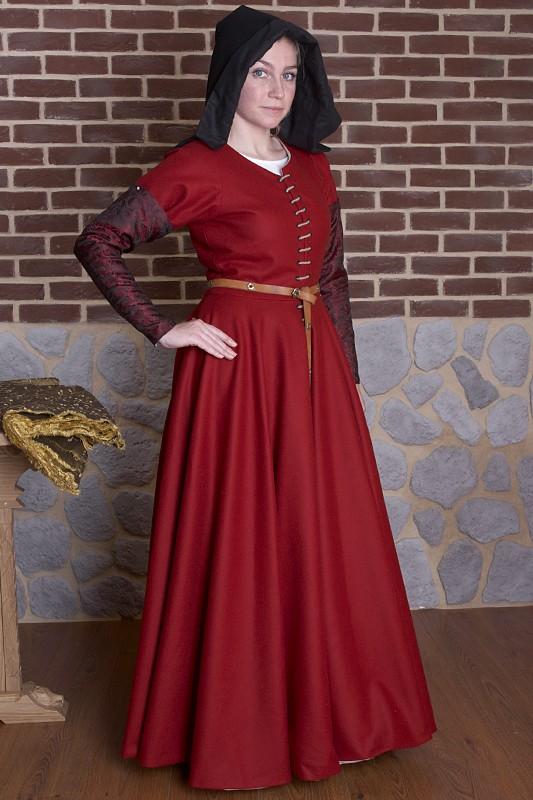 Suknia kobieca XV wiek
