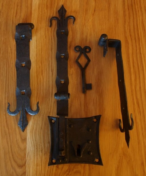 Chest Lock with Fittings - Typ 1