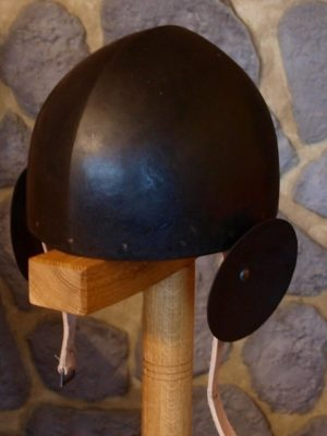 Skull Cap Helmet With Ears Protection