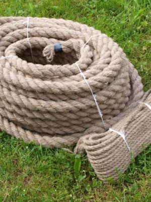 Handmade hemp rope - 40mm