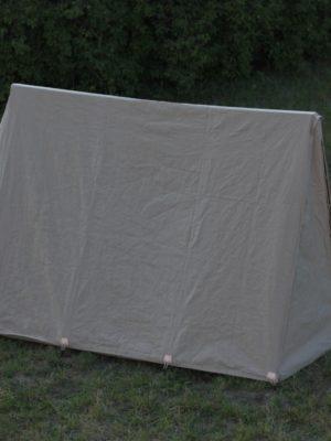 Namiot żołnierski XVIII wiek