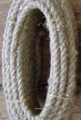 Lina konopna - ręcznie robiona - 16mm