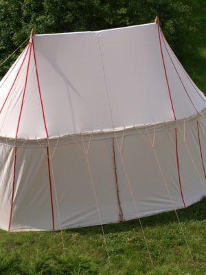 Namiot dwumasztowy - bawełna
