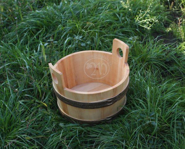 wooden washtub alder hazel