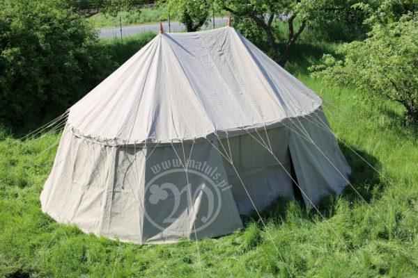 double mast tent
