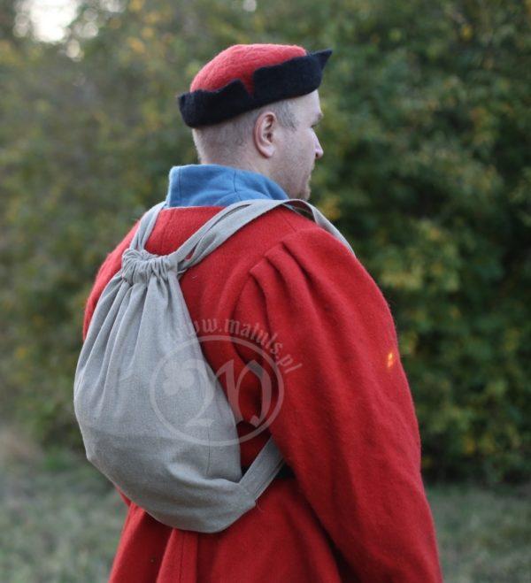 Plecak lniany