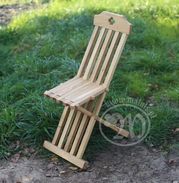 historyczne krzesło składane