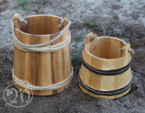 bucket of hazelnut alder