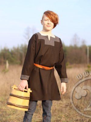 Kragelund tunic - Vikings - Haki