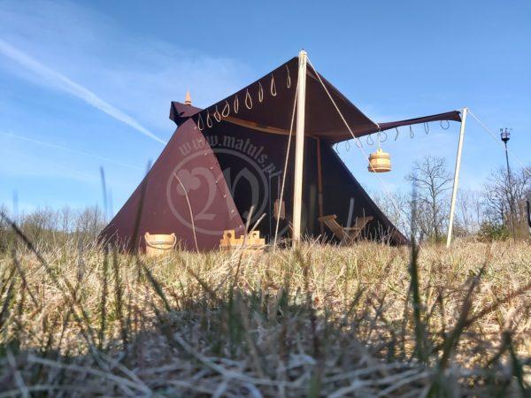 namiot z wełny 1