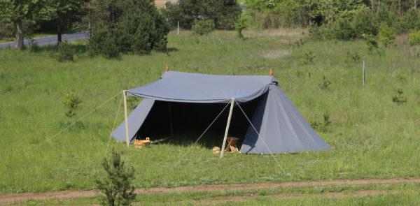 woolen tent