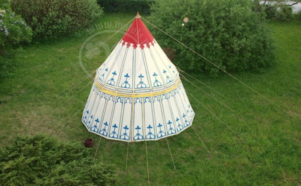 namiot medieval  malowany