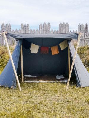 woolen viking tent
